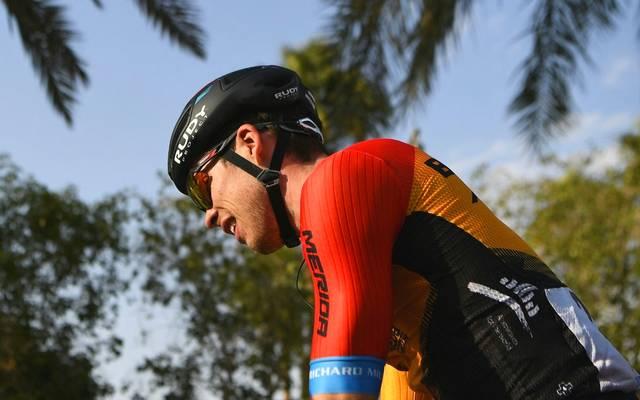 Radsport: Phil Bauhaus wird bei der UAE Tour Dritter