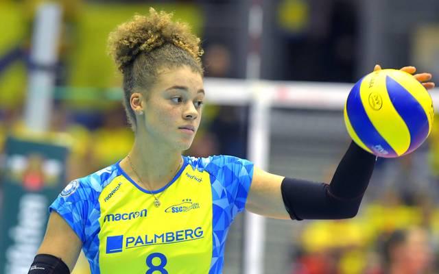 Kimberly Drewniok spielte zwei Jahre lang für den SSC Palmberg Schwerin