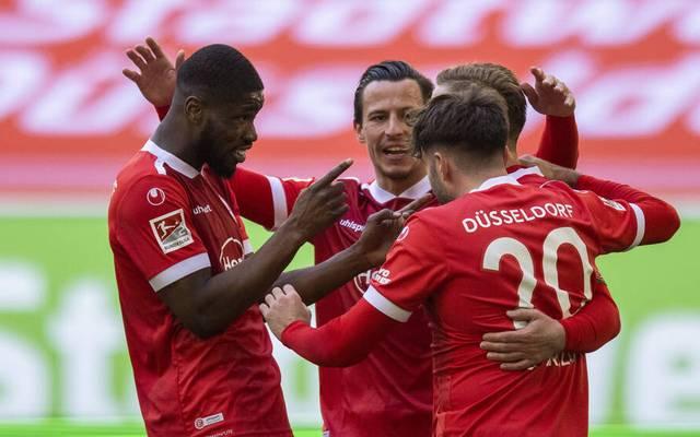 Fortuna Düsseldorf gewann zuletzt gegen Nürnberg