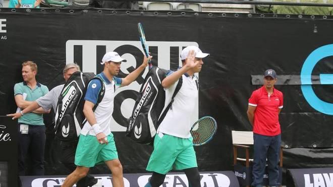 Die Brüder Bob (r.) und Mike Bryan sind das erfolgreichste Doppel der Tennis-Geschichte
