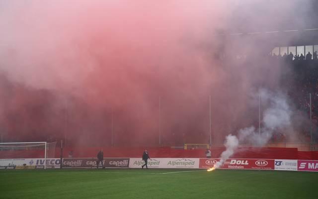 FCK-Anhänger zündeten vor Beginn Pyrotechnik