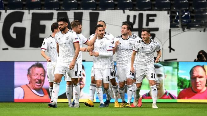 Der FC Basel gewann das Hinspiel gegen Eintracht Frankfurt mit 3:0
