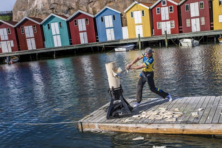 Die STIHL TIMBERSPORTS Champions Trophy kommt zum ersten Mal nach Schweden. Vor spektakulärer Fjord-Kulisse messen sich am 25. Mai 2019 die zwölf besten Sportholzfäller der Welt in packenden Duellen
