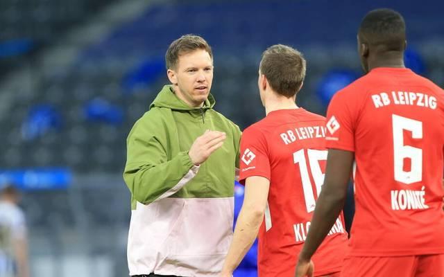 Julian Nagelsmann will mit Leipzig ins Halbfinale