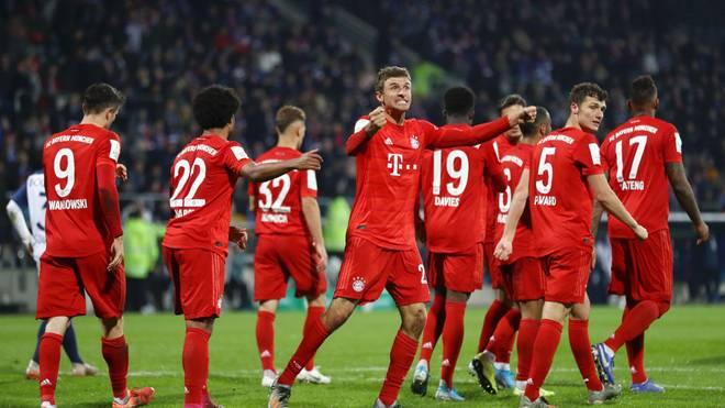 Der FC Bayern drehte unter der Woche die Partie in Bochum erst in der Schlussphase
