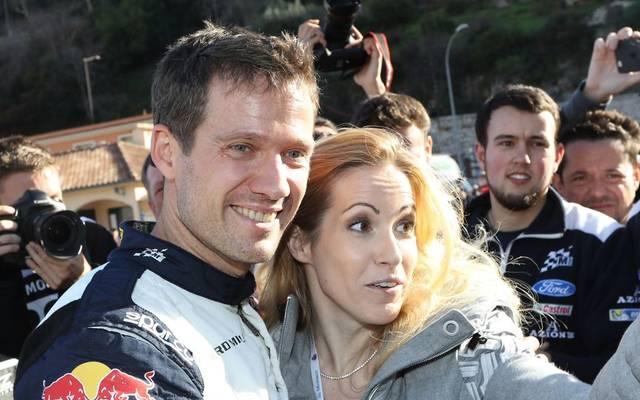 Sebastien Ogier und Andrea Kaiser sind verheiratet