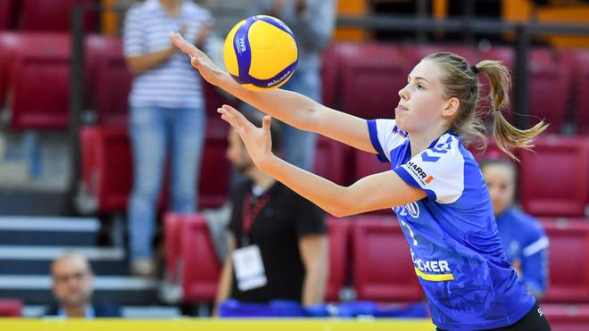Celine van Gestel zeigte eine starke Leistung