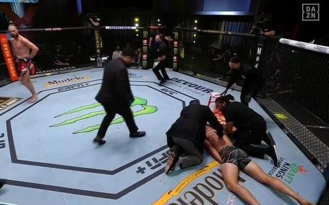 Jiri Prochazka hat Dominick Reyes bei der UFC spektakulär ausgeknockt