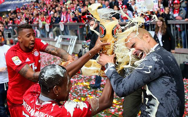 Pep Guardiola gewann mit dem FC Bayern unter anderem dreimal die Deutsche Meisterschaft