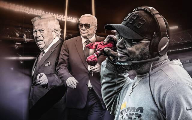 Mike Tomlin (r.) spricht zum Thema schwarze NFL-Coaches Klartext