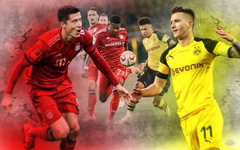 Spieler, Verantwortliche und Experten erwarten ein enges Topspiel zwischen dem FC Bayern und Borussia Dortmund. Wer macht den Unterschied? SPORT1 zeigt die Schlüsselduelle