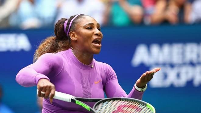 Serena Williams steht derzeit unter Stress