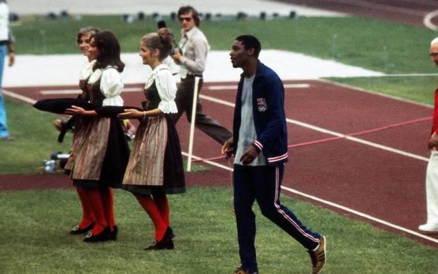Vince Matthews provozierte bei Olympia 1972 in München einen Eklat