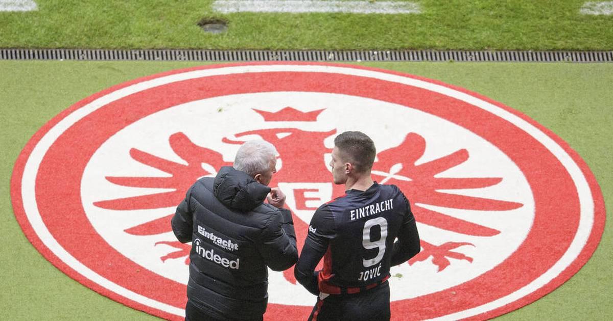 Eintracht Frankfurt: Wie lange bleibt Luka Jovic noch ruhig? - SPORT1
