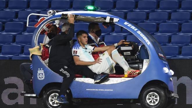 Bayer-Profi Exequiel Palacios hat sich bei Argentiniens Nationalteam schwer verletzt