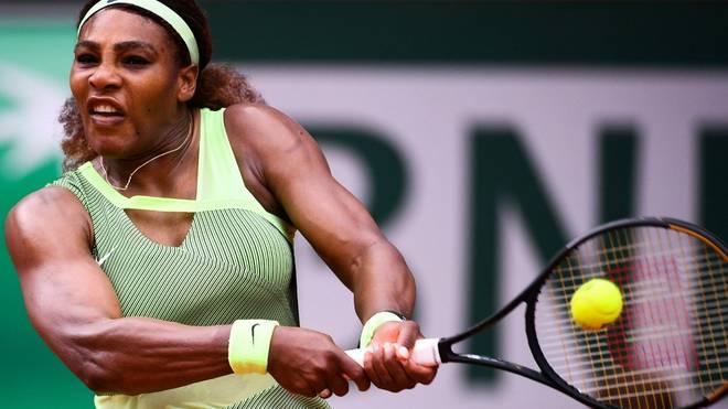 Serena Williams steht im Achtelfinale der French Open
