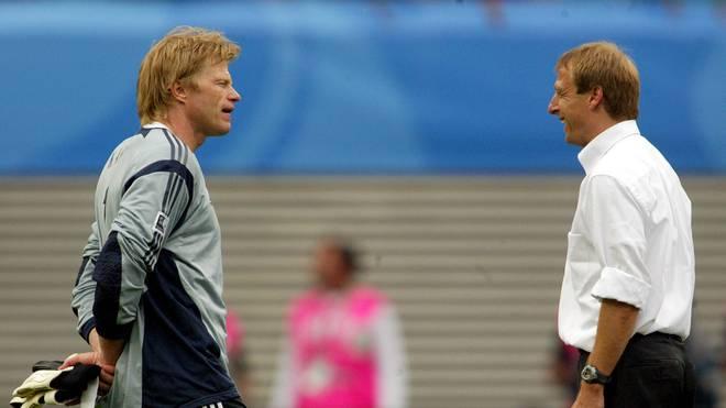 Oliver Kahn und Jürgen Klinsmann wurden in die Hall of Fame gewählt