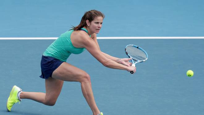 Julia Görges musste sich gegen Caroline Wozniacki im WTA-Viertelfinale geschlagen geben.