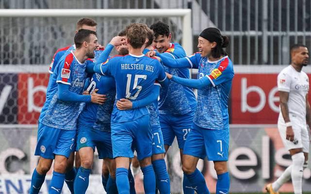 Holstein Kiel überwintert in der 2. Bundesliga erstmals an der Tabellenspitze