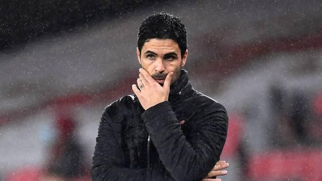 Mikel Arteta steckt mit dem FC Arsenal tief in der Krise