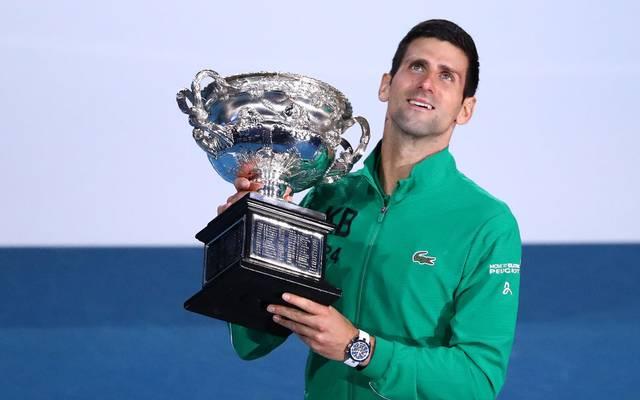Novak Djokovic gewinnt zum achten Mal die Australian Open