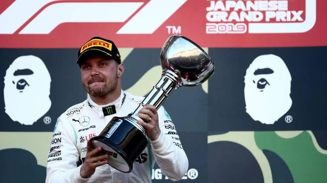Valtteri Bottas gewann zuletzt den Großen Preis von Japan