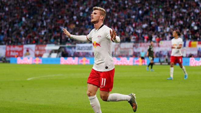Timo Werner war gegen die Mainzer dreimal erfolgreich.