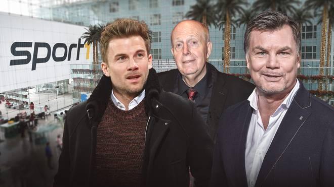 Daniel Baier und Reiner Calmund sind zu Gast im CHECK24 Doppelpass