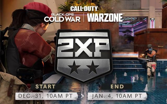 Zum Jahreswechsel gibt es noch einmal Double-EXP in Call of Duty Black Ops Cold War