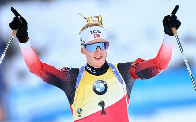 Der Norweger Johannes Thingnes Bö legt im Januar eine Pause ein