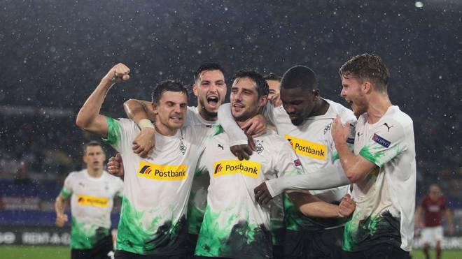 Nach dem Last-Minute-Punkt im Hinspiel will Borussia Mönchengladbach den AS Rom zuhause schlagen