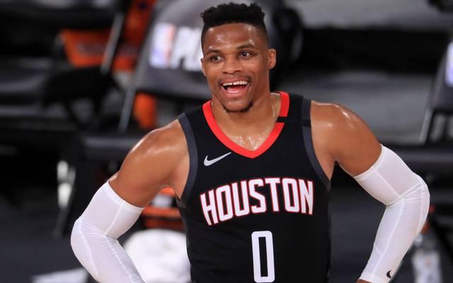 Russell Westbrook verdiente bei den Houston Rockets in dieser Saison über 38 Millionen US-Dollar