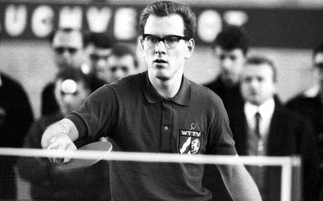Eberhard Schöler ebnete im Tischtennis Timo Boll und Co. den Weg