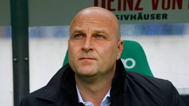 Sportdirektor Dirk Dufner (Hannover 96) - 1. Fussball Bundesliga Punktspiel Saison 2014-2015 Hannover 96 vs. SC Freiburg in der HDI Arena in Hannover - Portrait,Deutschland, Fussball, Mann, Maenner,23.05.2015