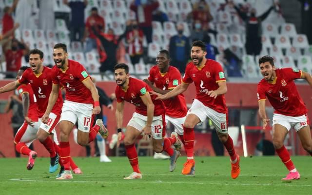 Al Ahly aus Kairo feiert den dritten Platz
