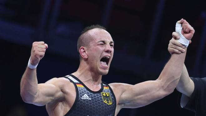Frank Stäbler gewann seine zweite Goldmedaille bei Europameisterschaften