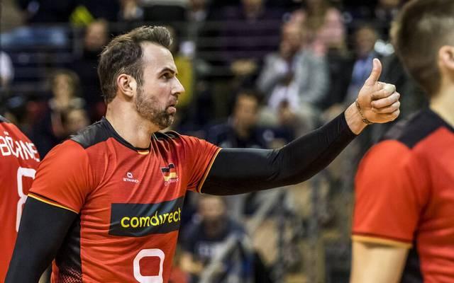 Georg Grozer ist der Superstar im deutschen Volleyball