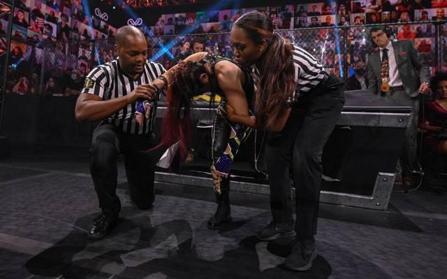 Io Shirai wurde Opfer einer Attacke von Mercedes Martinez
