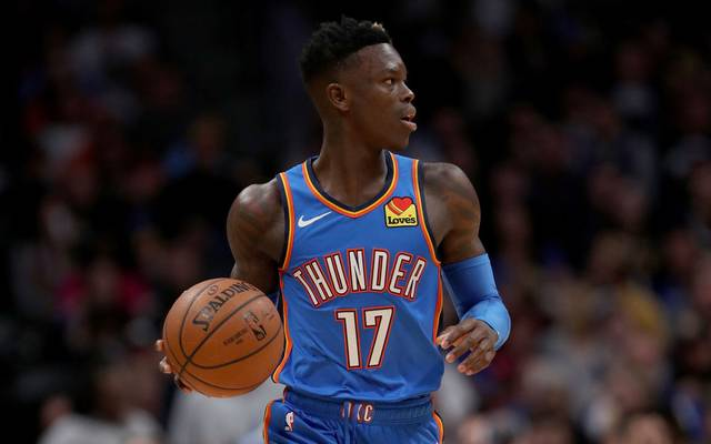 Dennis Schröder spielt seit 2018 bei Oklahoma City Thunder