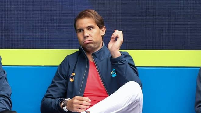 Auch gegen Griechenland muss Rafael Nadal auf der Bank bleiben