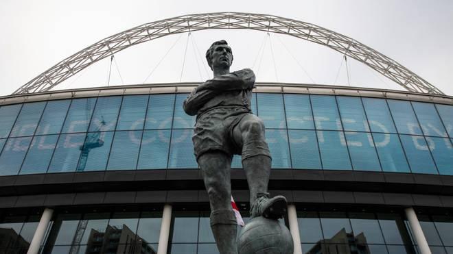 Im Wembleystadion könnte die Saison zu Ende gespielt werden