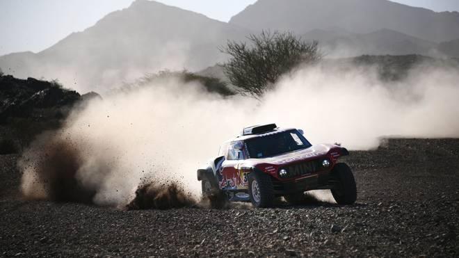 Stephane Peterhansel durfte sich über einen Etappensieg bei der Rallye Dakar freuen