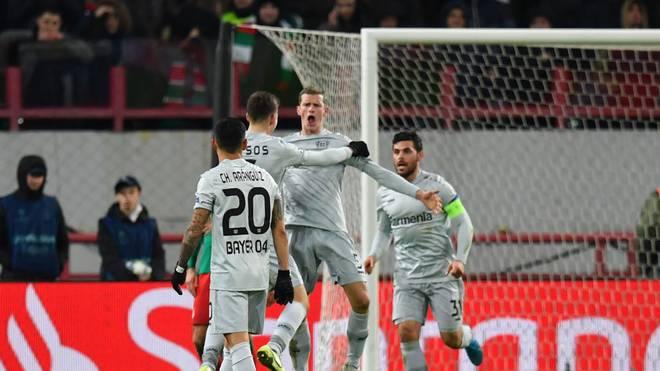 Bayer Leverkusen kann weiterhin das Achtelfinale erreichen