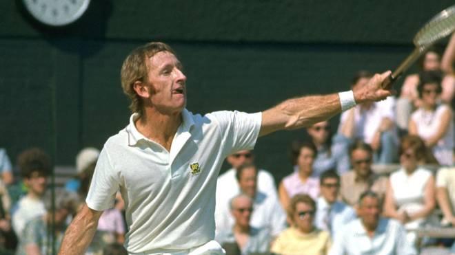 Rod Laver gewann im 1968 und 1969 den Grand Slam im Tennis