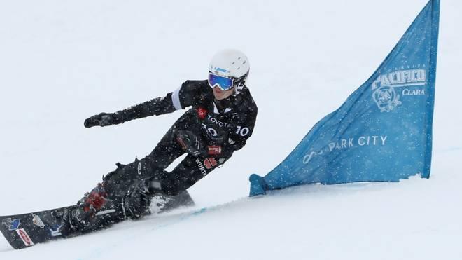 Selina Jörg wurde Dritte beim Parallel-Slalom mit dem Snowboard