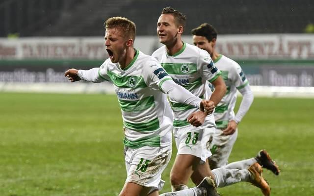 Greuther Fürth mischt im Aufstiegskampf mit