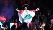 Tyson Fury lief in einem mexikanischen Festumhang zum Ring