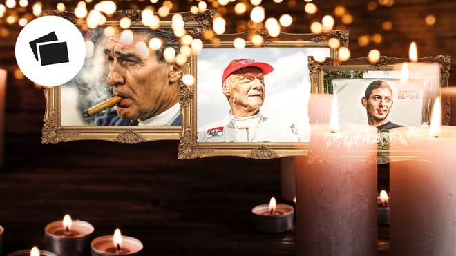 Rudi Assauer, Niki Lauda und Emiliano Sala starben 2019