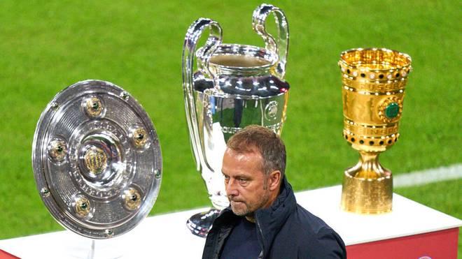 Die Bayern um Trainer Hansi Flick dominieren die Bundesliga