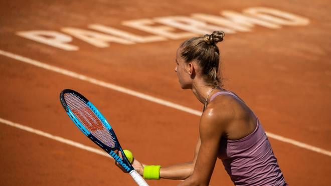 In Palermo findet das erste WTA-Turnier seit Ausbruch der Corona-Pandemie statt